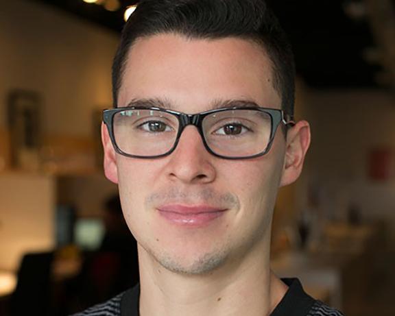Portrait of Chad Villarroel.