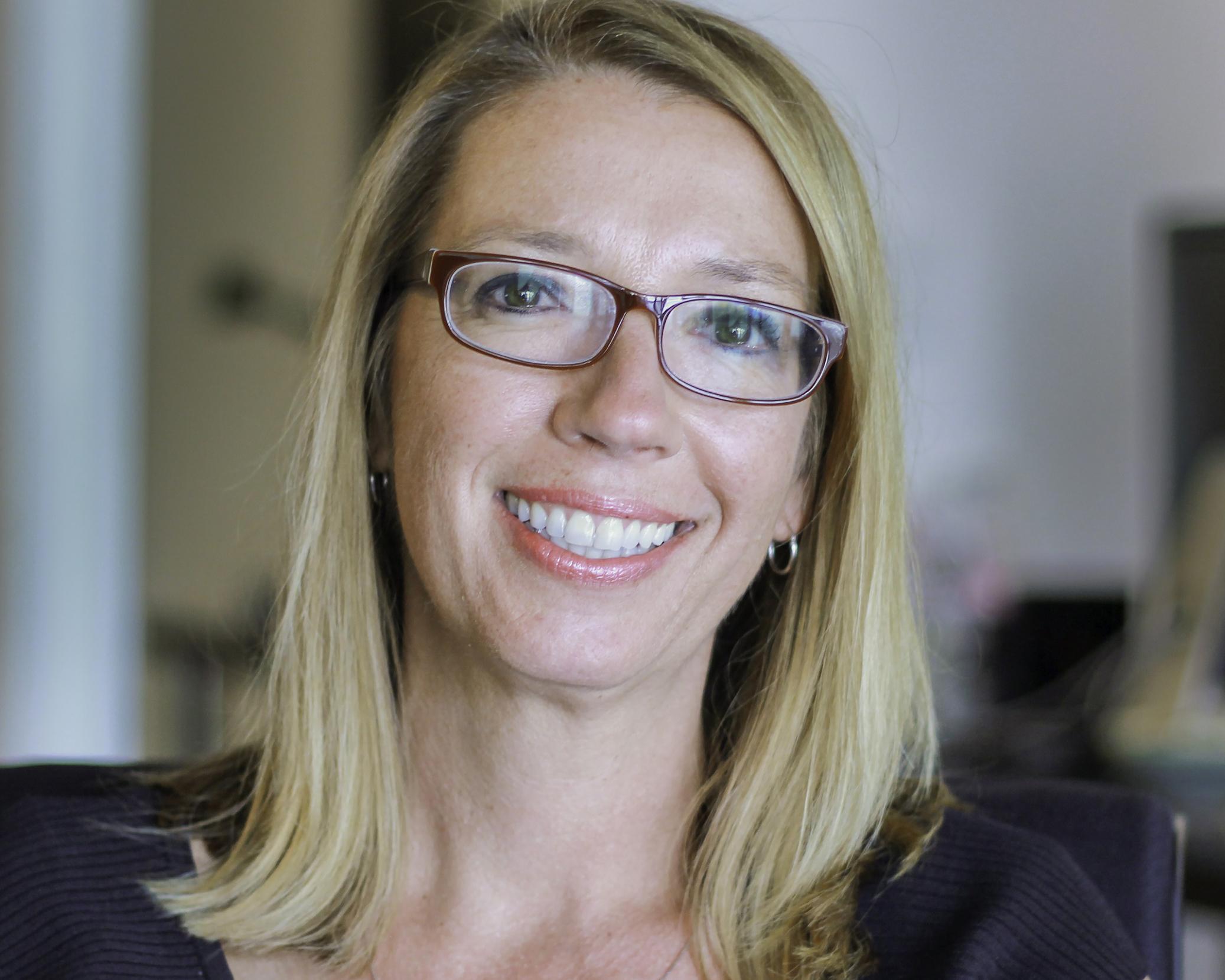 Portrait of Christy Schell.