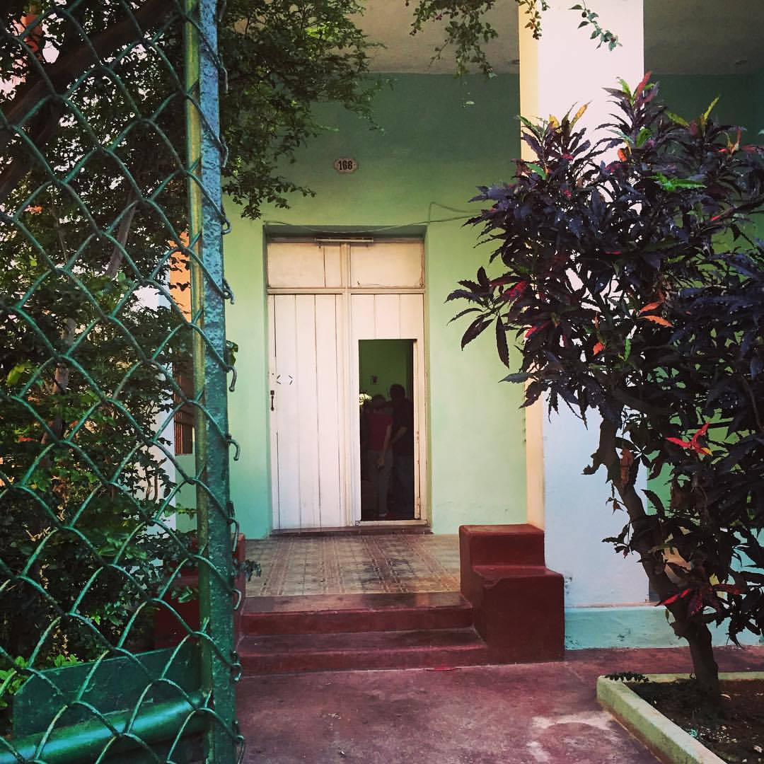 Jorge Brunet-García's abuela's house