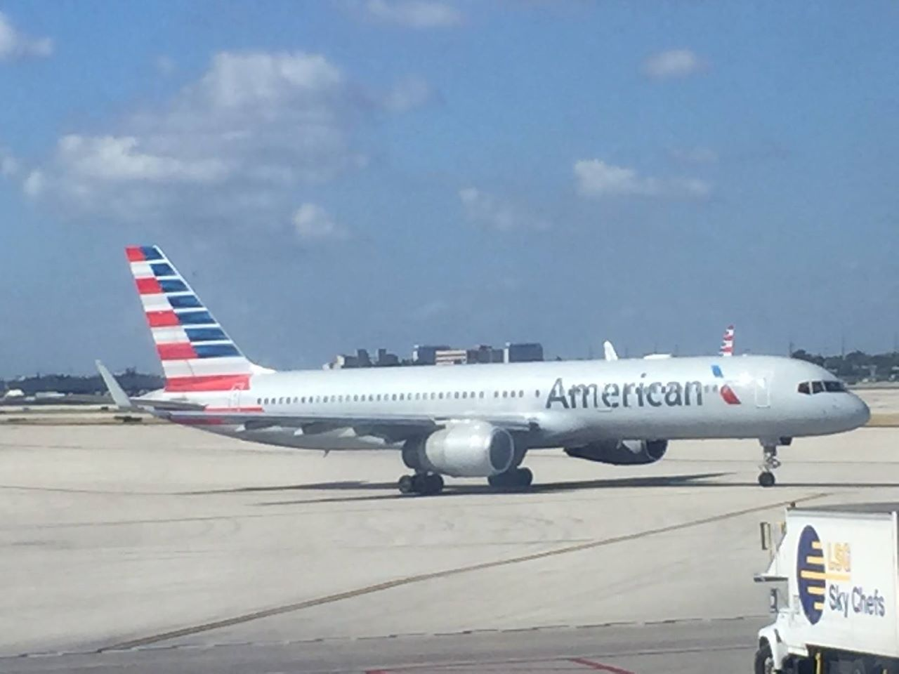 Jorge and Diane Brunet-García will board this American Airlines jet to Havana, 56 years after Jorge left Cuba.