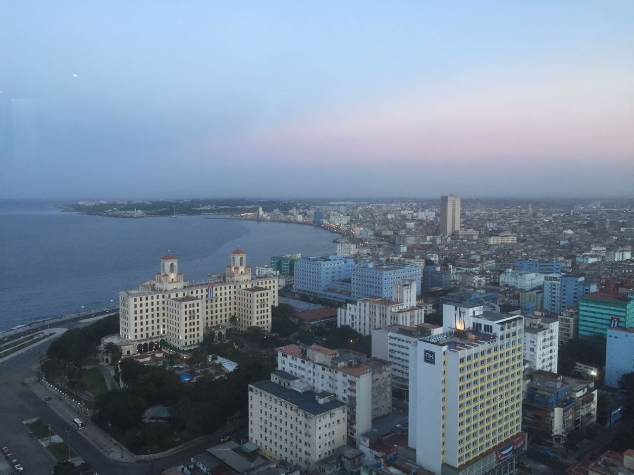 A view of Havana's skyline and coast.