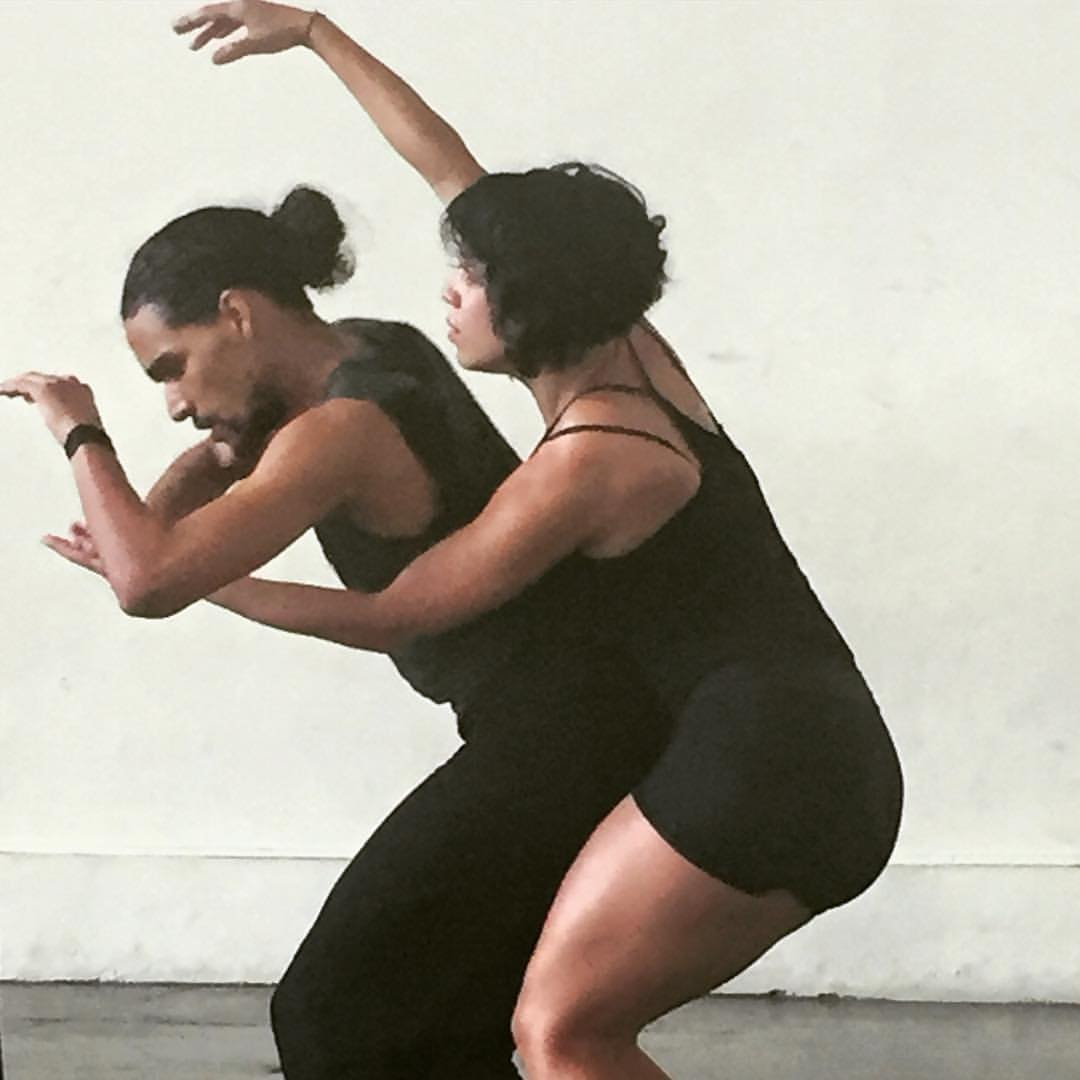 A rehearsal for Mal Paso, the island's only private, nonprofit dance repertory company.