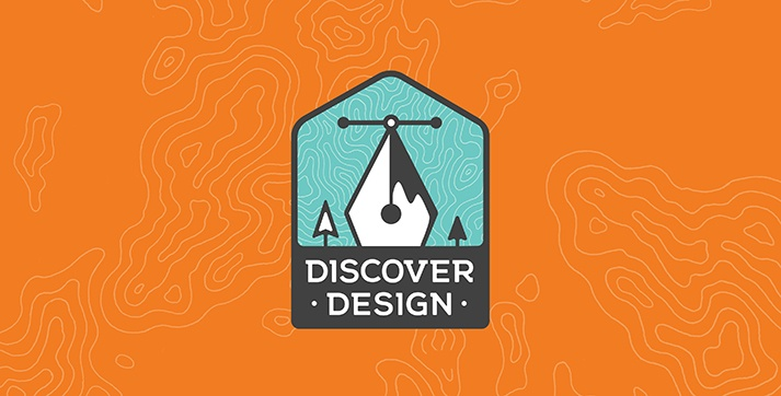 AIGA Discover Design logo.