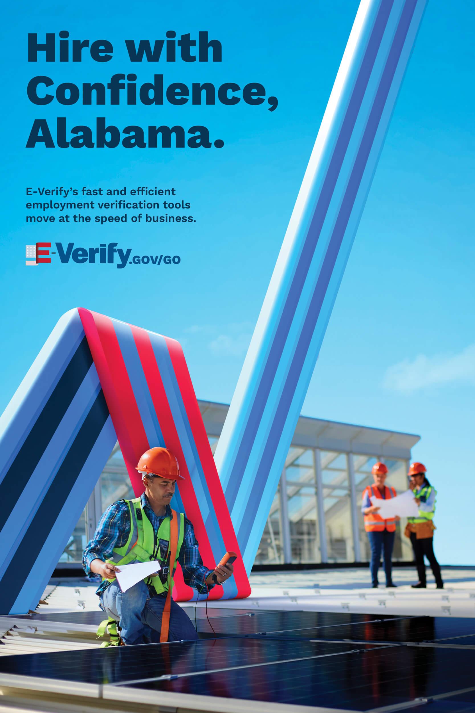 E-Verify Alabama Poster