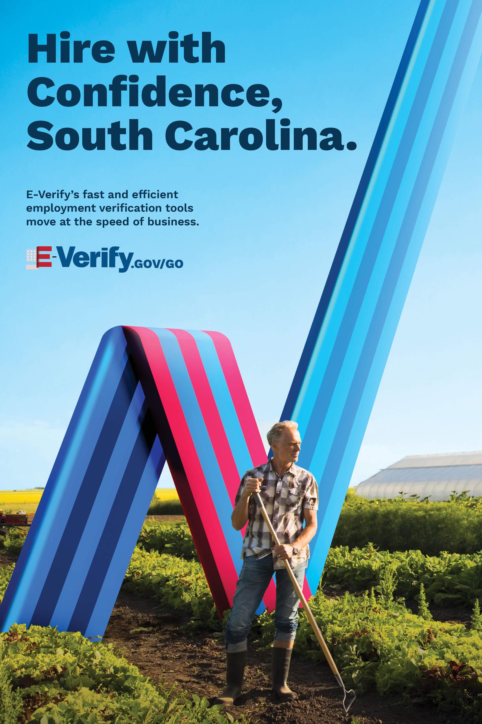 E-Verify South Carolina Poster