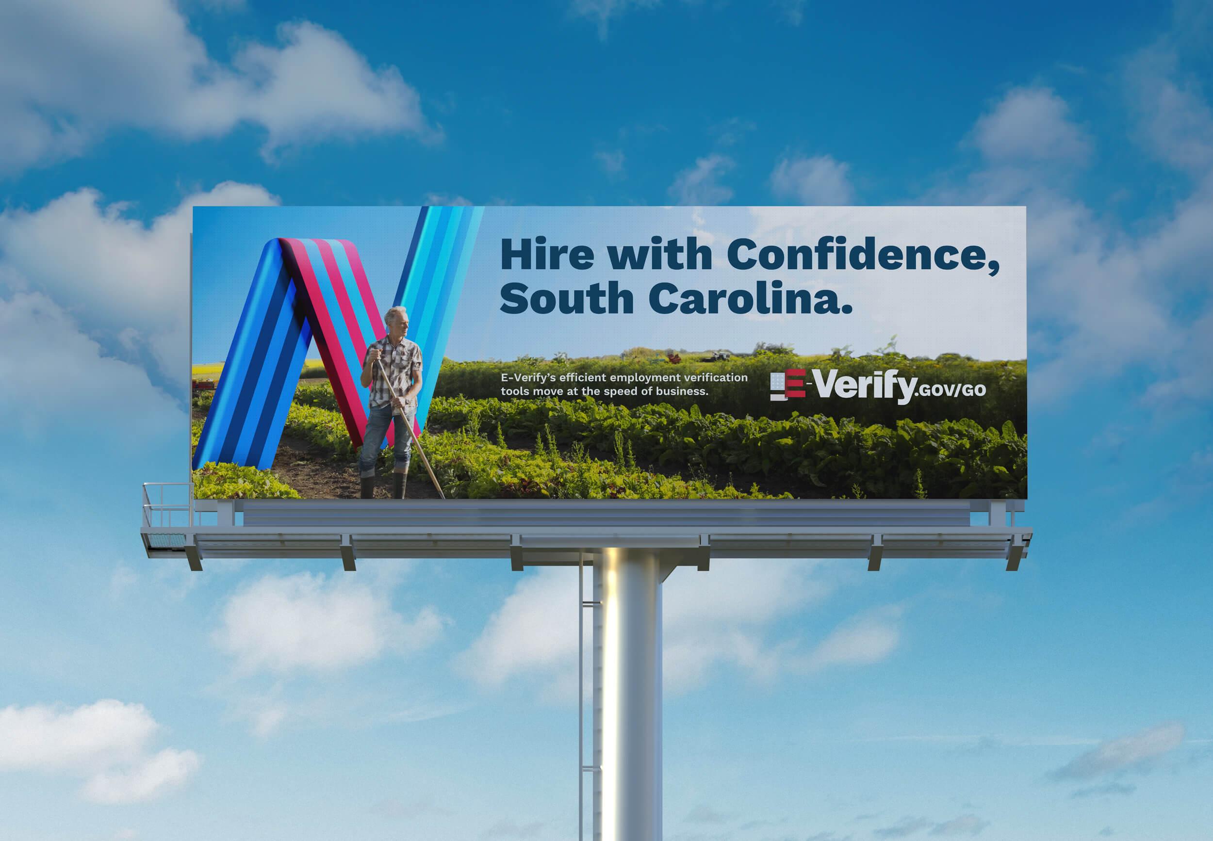 E-Verify Outdoor Board