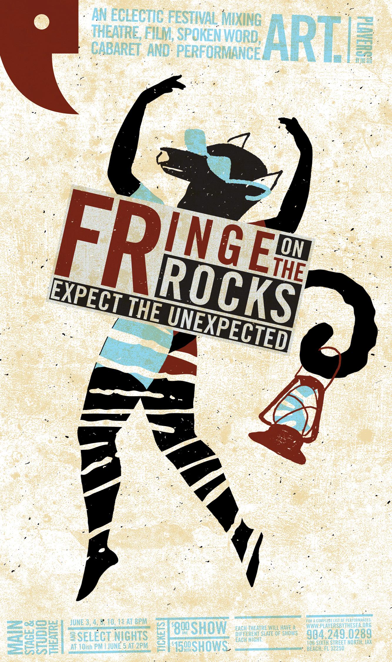 Fringe On The Rocks poster