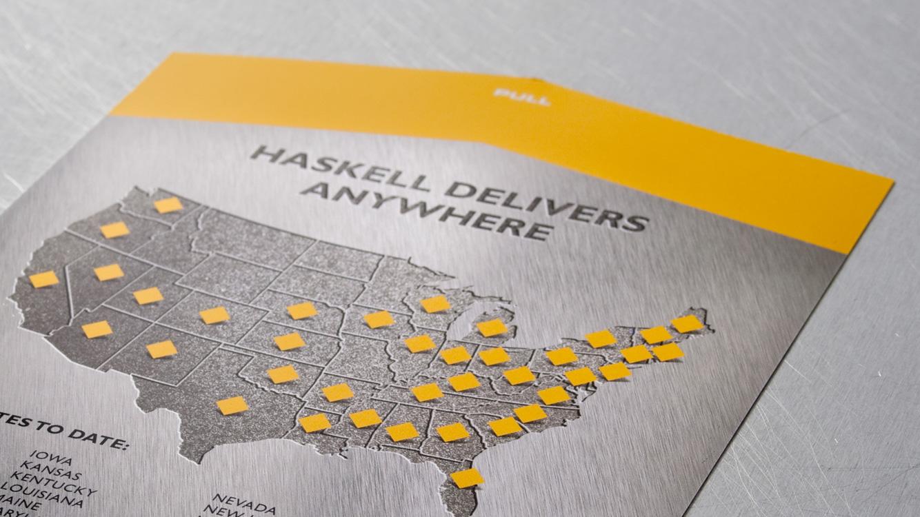Haskell Steel insert