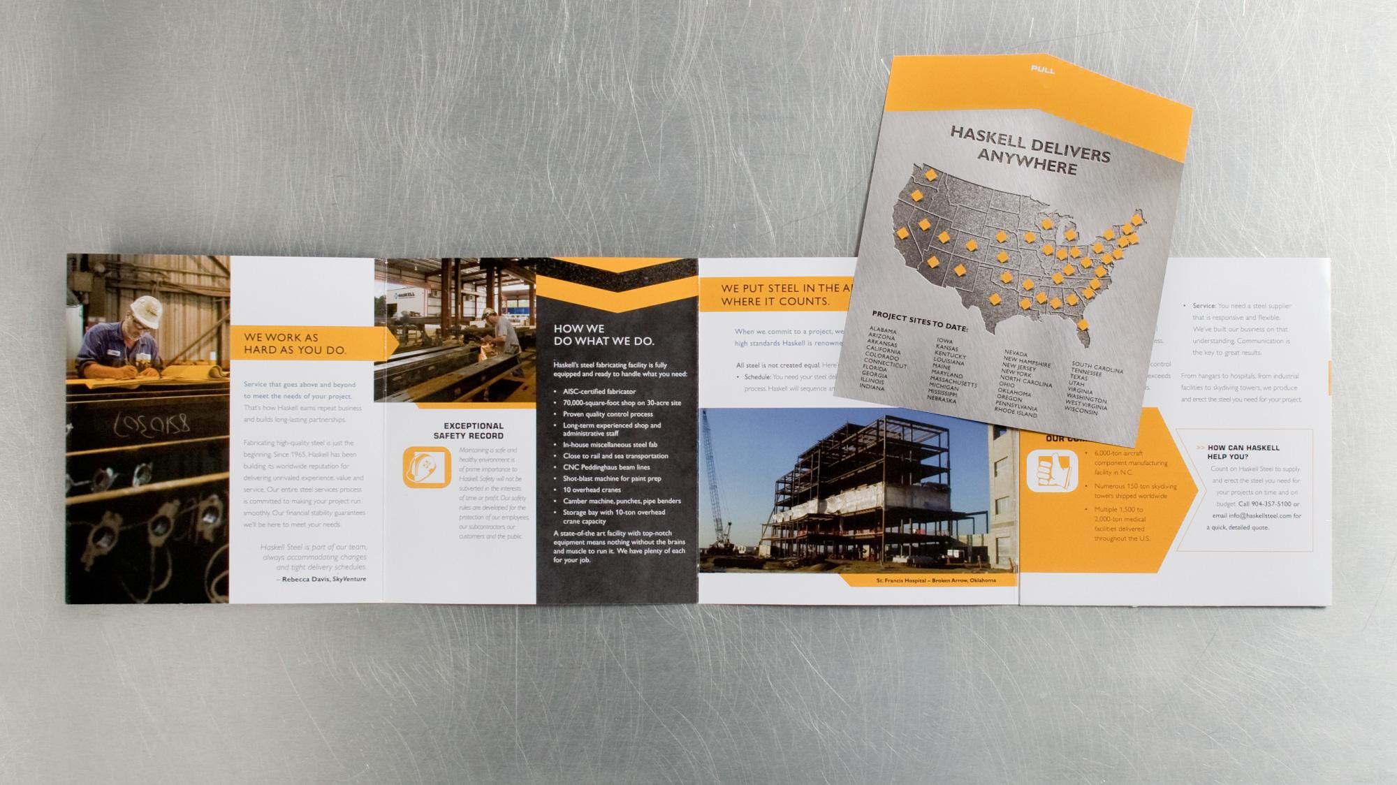 Haskell Steel brochure