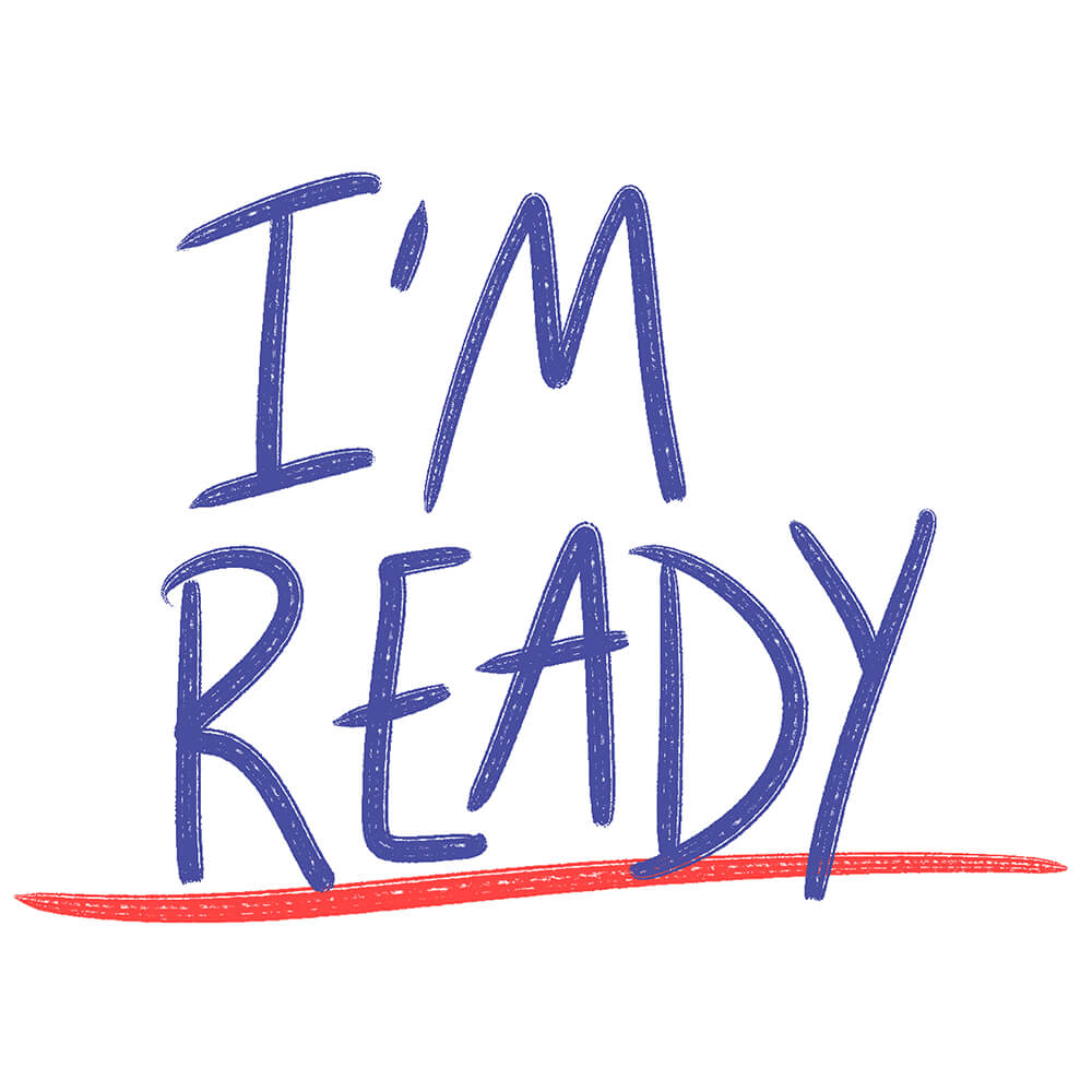 I'm Ready campaign logo