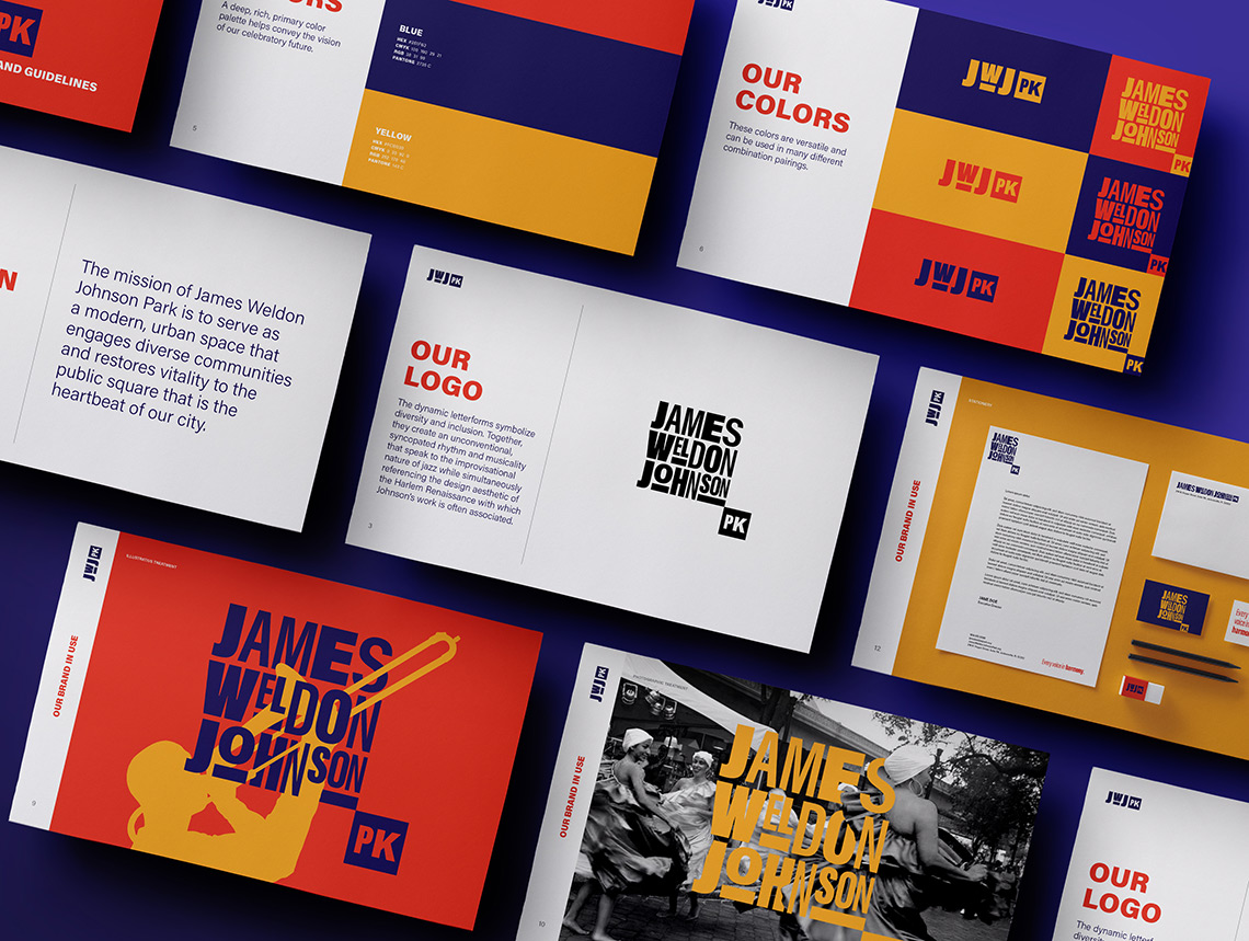 James Weldon Johnson Park brand standards