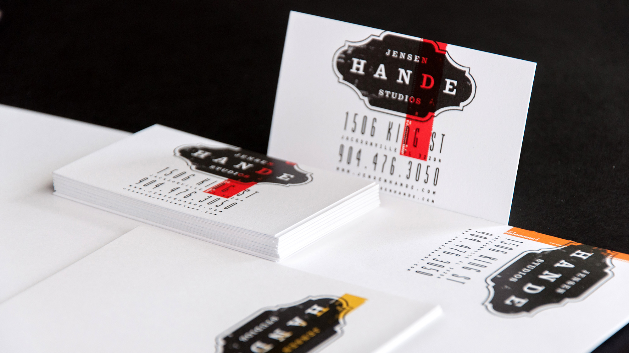 Jensen Hande Studios stationery