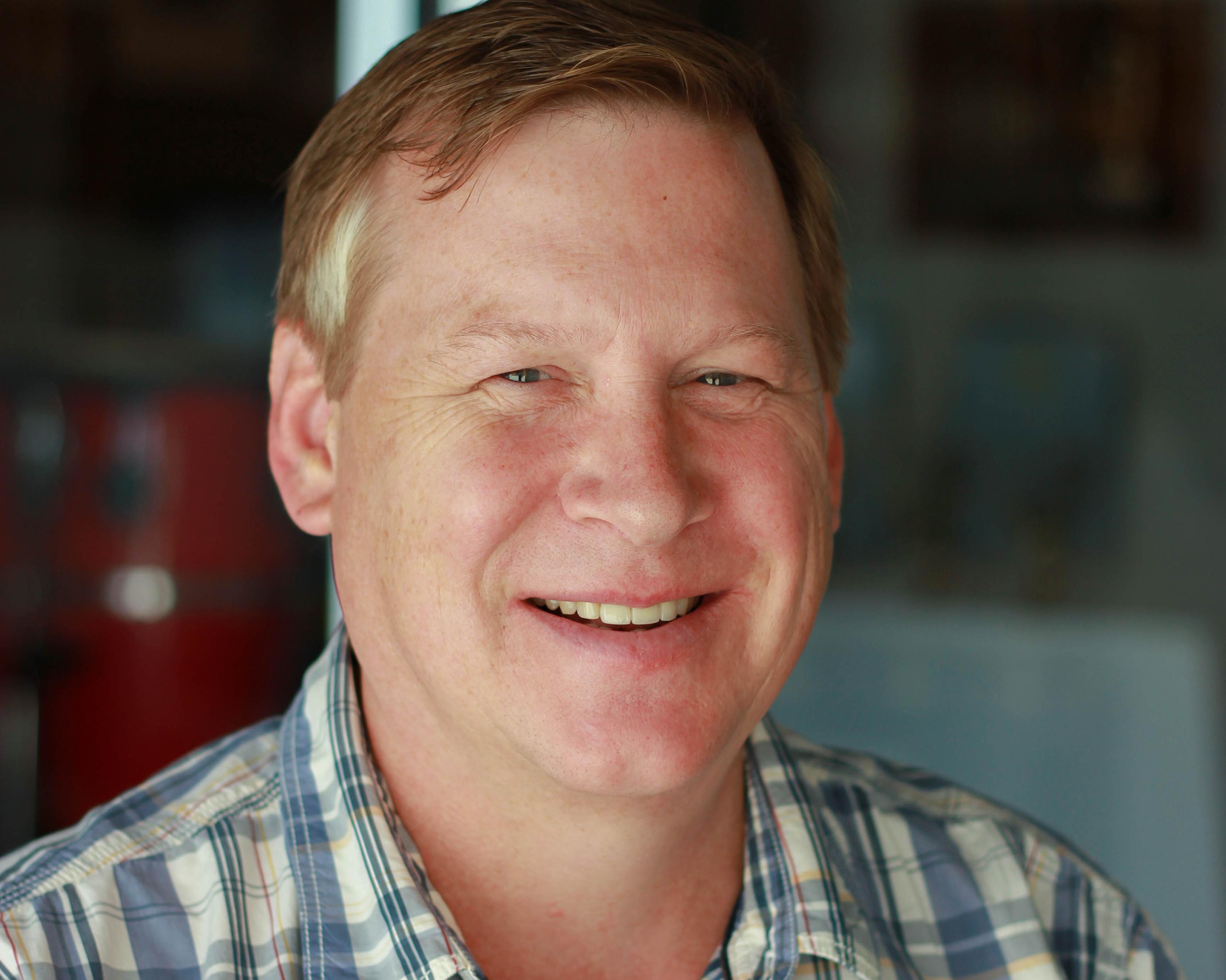 Portrait of Kerry Boatwright.