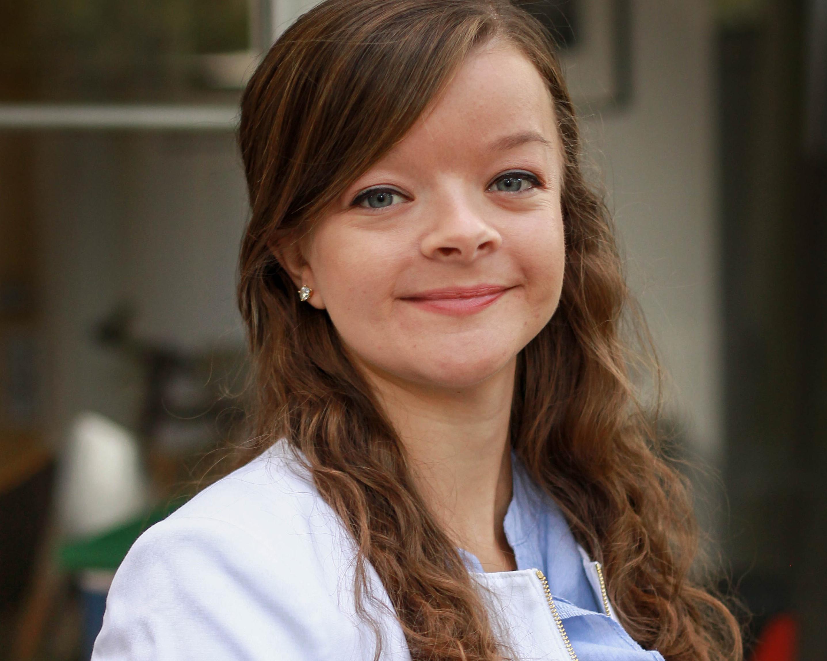 Portrait of Natalie Spindle.