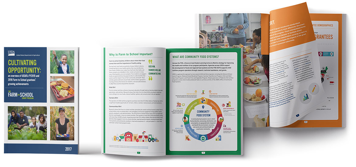 United States Department of Agriculture Farm to Schools Grantee Report