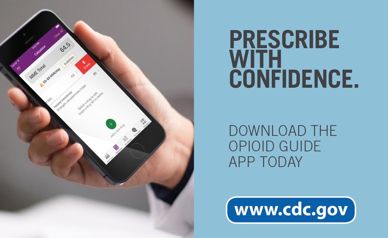 App puts CDC opioid guideline at your fingertips | Brunet-García
