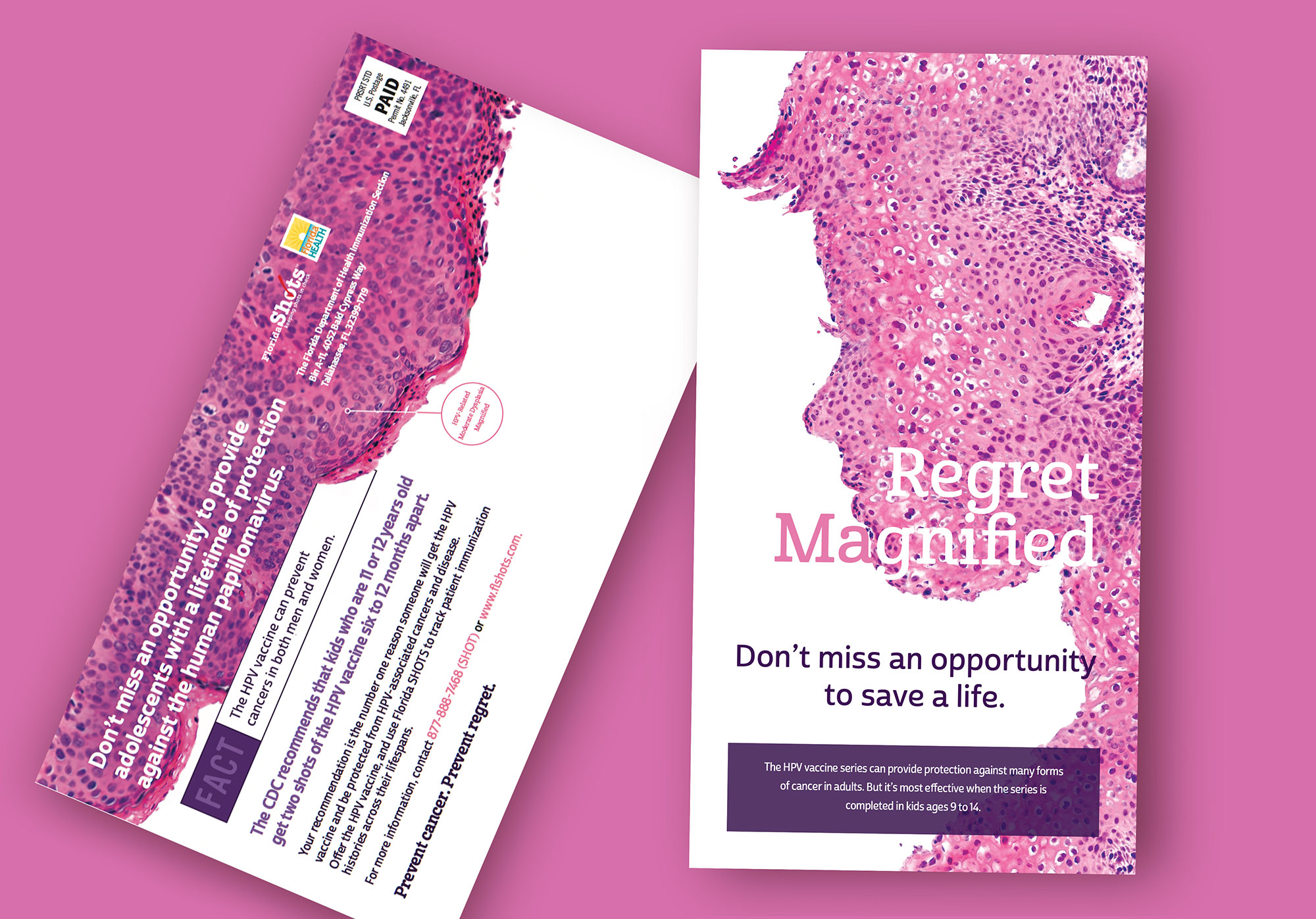 Regret Magnified postcard
