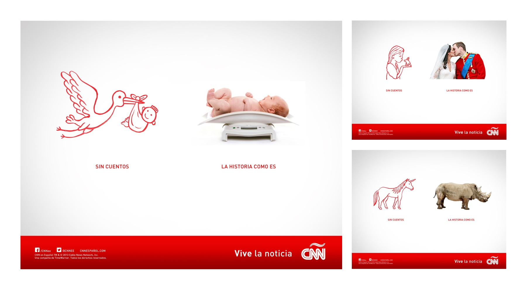 CNN Institutional Campaign SIN CUENTOS