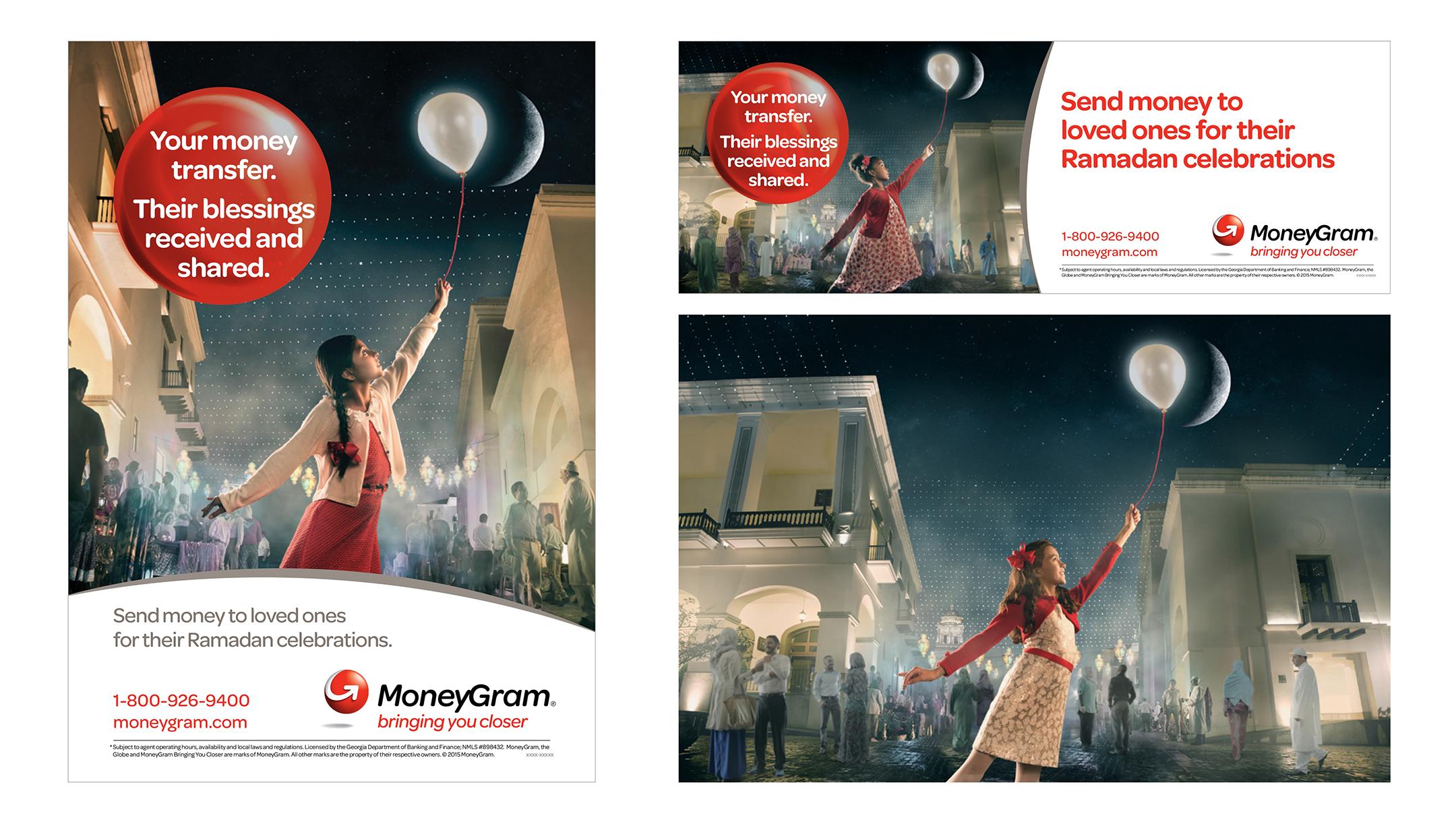 MoneyGram Ramadan campaign.