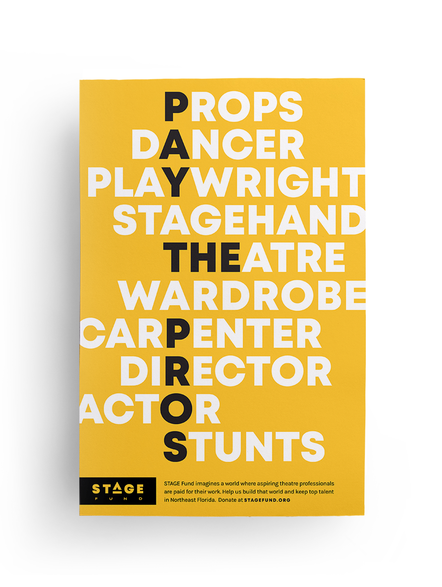 Stage Fund Rack Ad