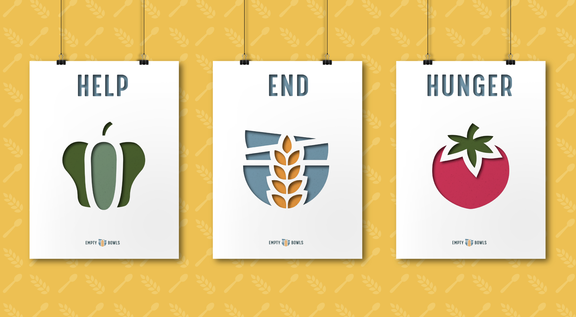 Empty Bowls Posters