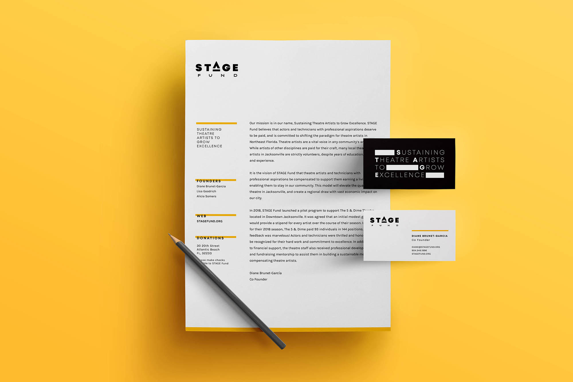 StageFund_stationery