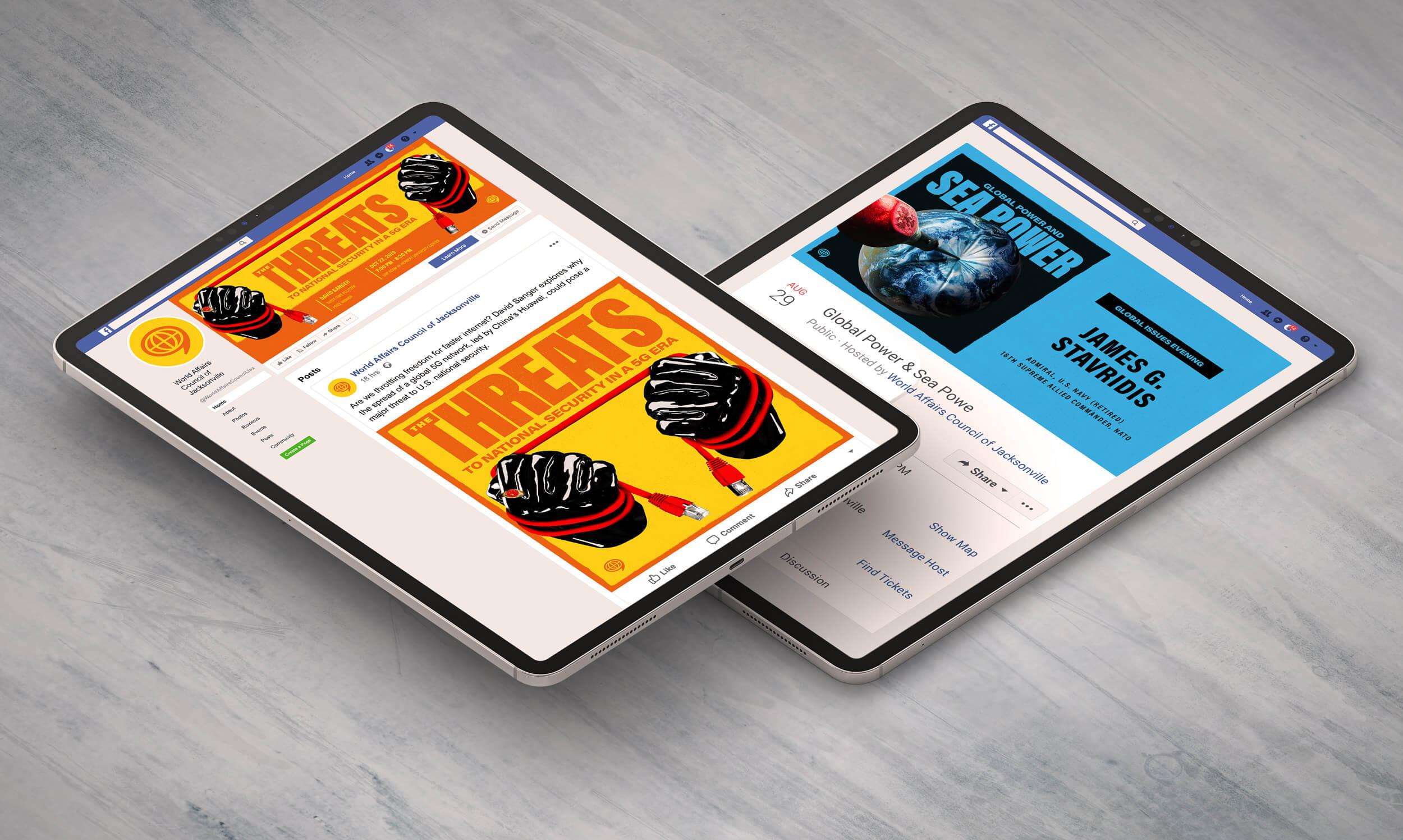 WAC iPad mockups