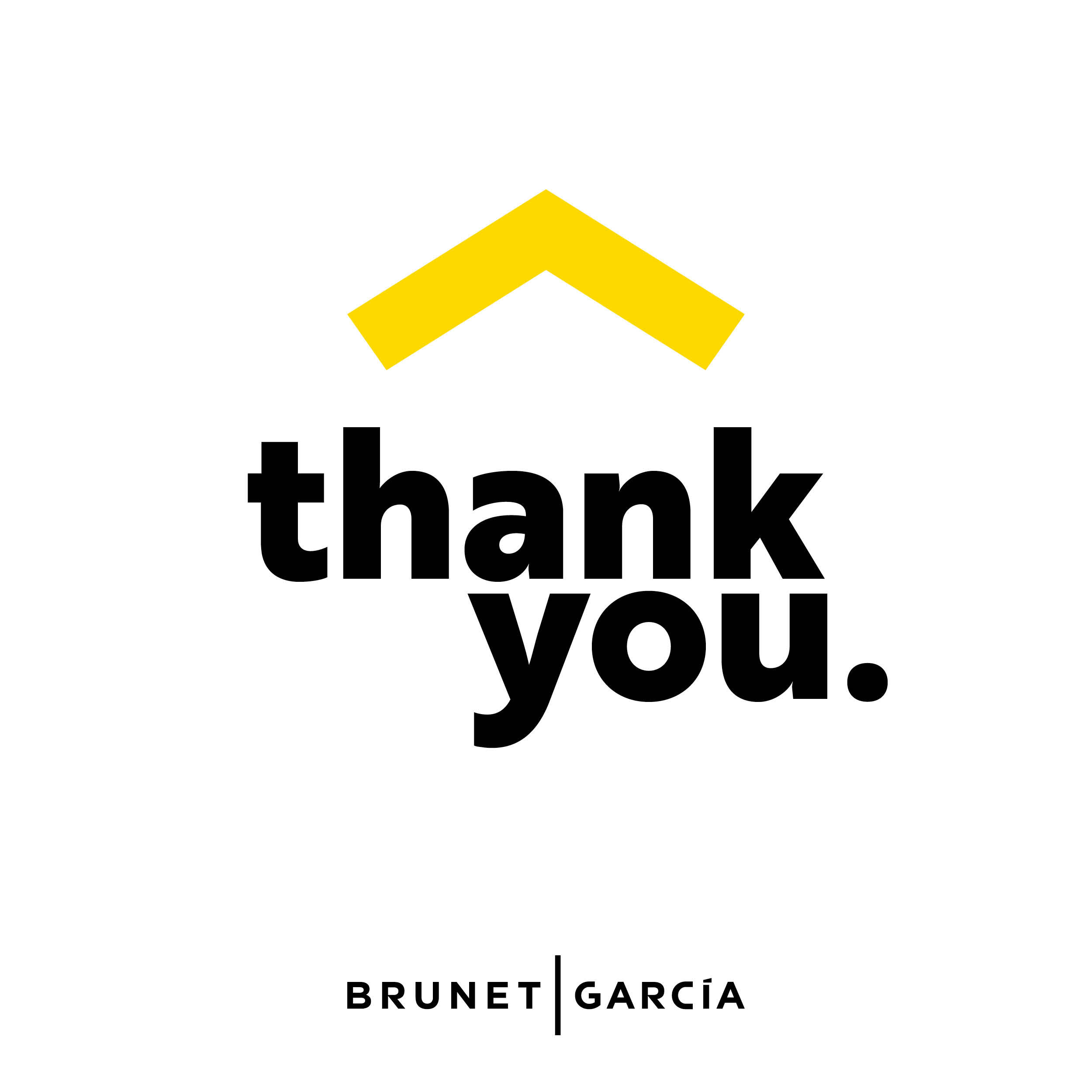 "The image shows the words ""thank you."""