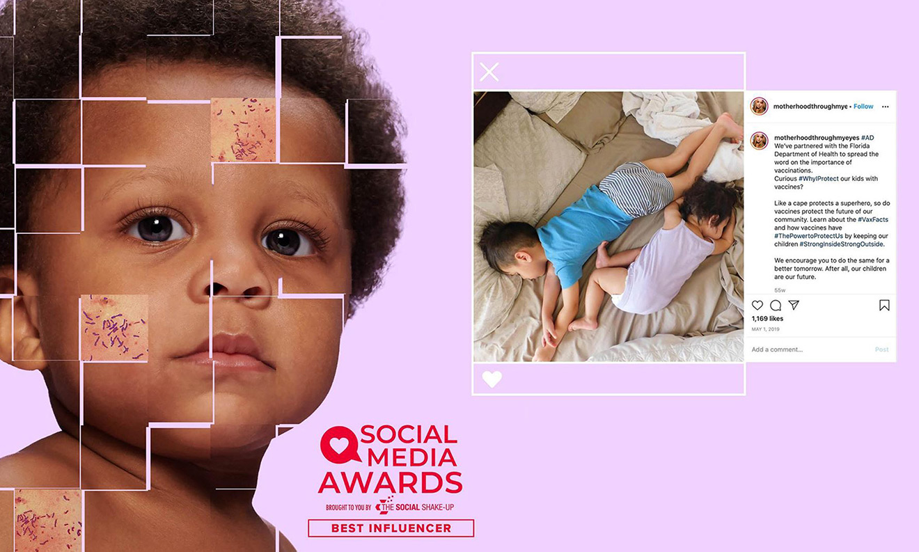 Social Media Awards brought to you by The Social Shake-Up: Best Influencer