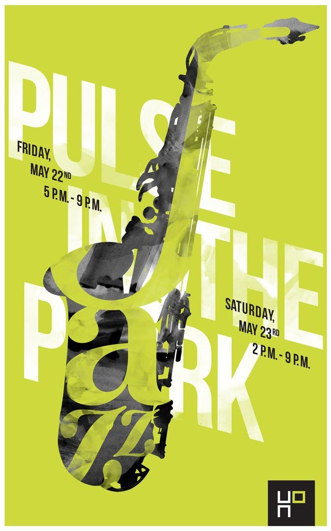 "poster that reads: ""Pulse In The Park"""