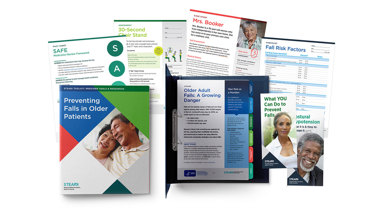 CDC's STEADI program collateral