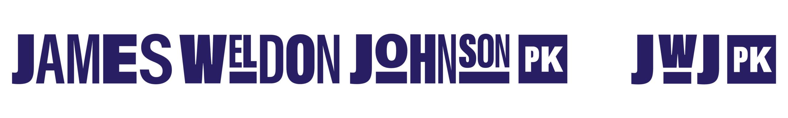 A horizontal James Weldon Johnson Park logo treatment
